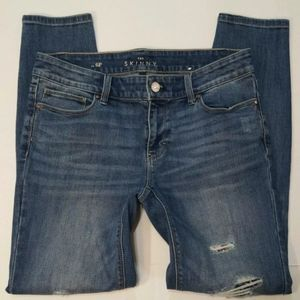 WHBM The Skinny Mid Rise Size 6 P